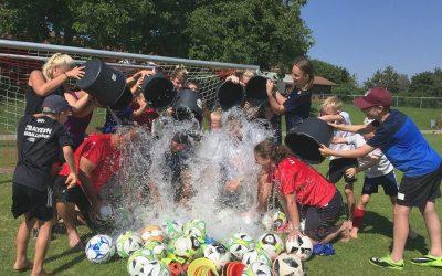 Fußball-Erlebnis-Camp im SVB – eine echt coole Sache!