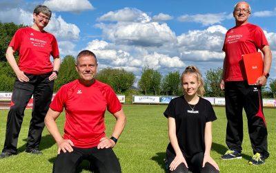 Leichtathleten des SV Bruckmühl – Teamplayer für das Rosenheimer Hauptzollamt