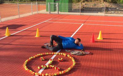Sparte Tennis: Verwaiste Kids-Arena und einsame Grünanlagen
