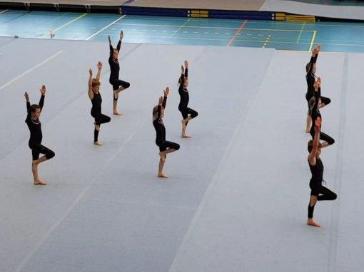 Team 4 beim Tanz