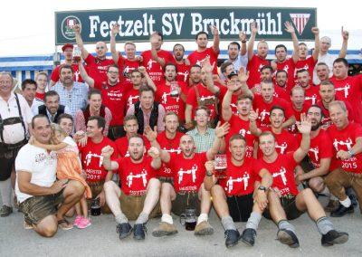 Volksfest Bruckmühl, die Meister und Aufsteiger