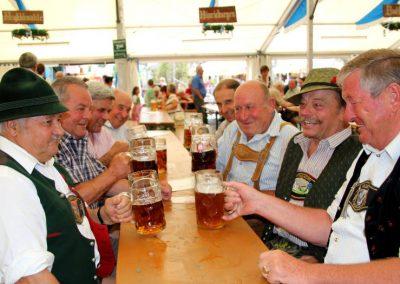 Volksfest Bruckmühl Senioren-Stammtisch