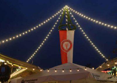 2016 Volksfest Bruckmuehl - Nachthimmel
