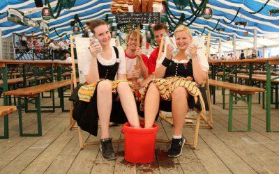 Volksfest Bruckmühl 2016: Rückblick Montag