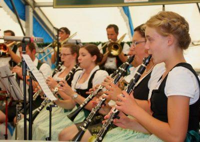 SVB-Volksfest-2018-Familientag-Frauenpower bei der Blaskapelle Bruckmuehl