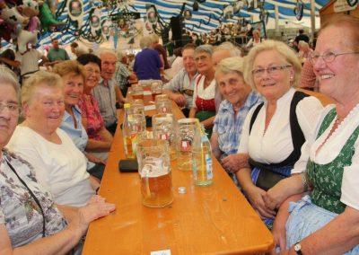 SV Bruckmühl Volksfest 019 - Frauenpower beim Seniorentag