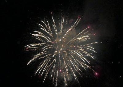 SV Bruckmühl Volksfest 2019 - Feuerwerk