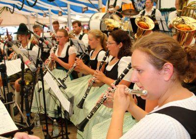 SV Bruckmühl Volksfest 2019 - Frauenpower bei der Blaskapelle Bruckmühl