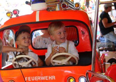 SV Bruckmühl Volksfest 2019 Ludwig und Maxi die jungen Floriansjunger