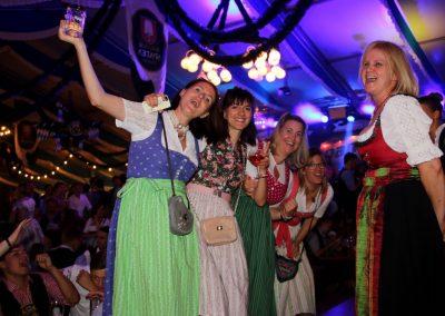 SV Bruckmühl Volksfest 2019 - Partystimmung unter dem Zeltdach-2