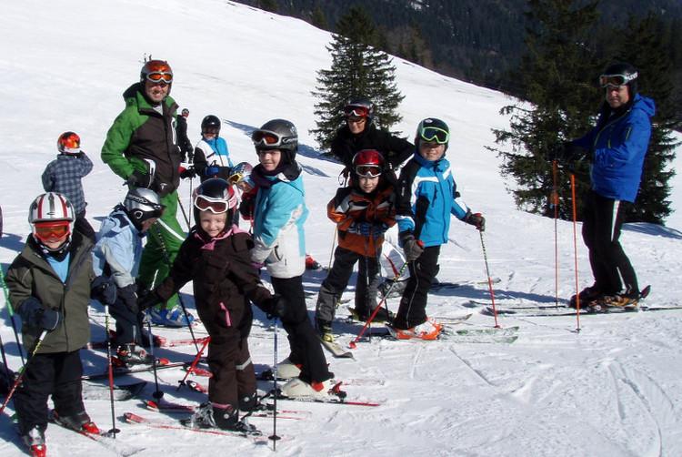 Begleitetes Skifahren