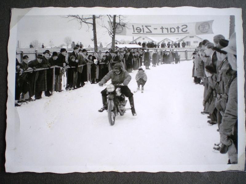 1955 Skikjöring in Bruckmühl