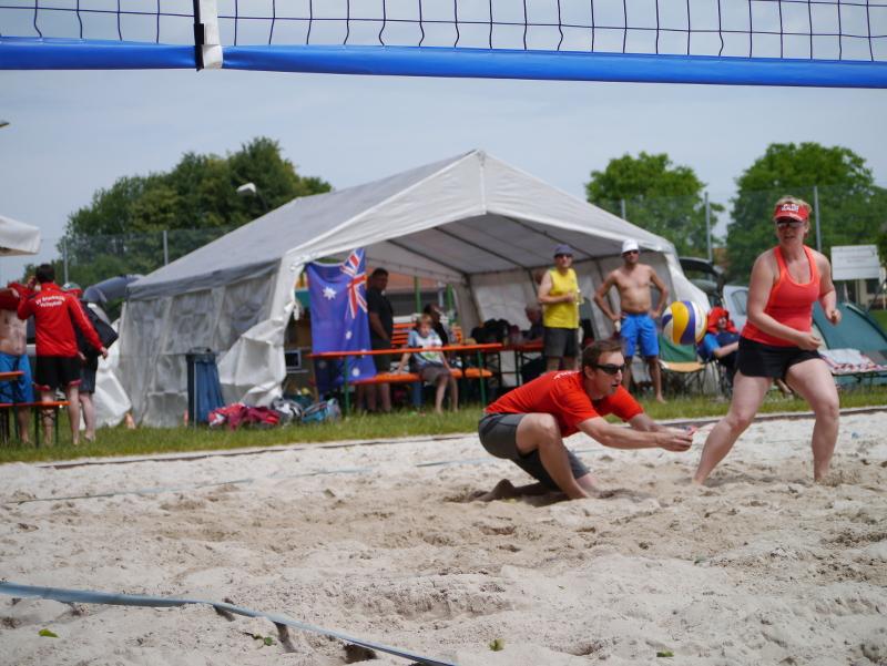 Beachvolleyplatz Sportverein Bruckmuehl