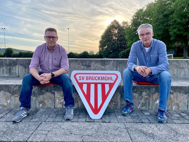 Interview des neuen Führungs-Duo des SV Bruckmühl